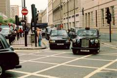 Fairway and Metrocab at Paddington Station