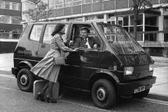 Lucas prototype electric taxi