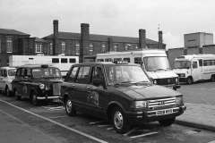 Metrocab, Austin FX4 and Carbodies Fairway