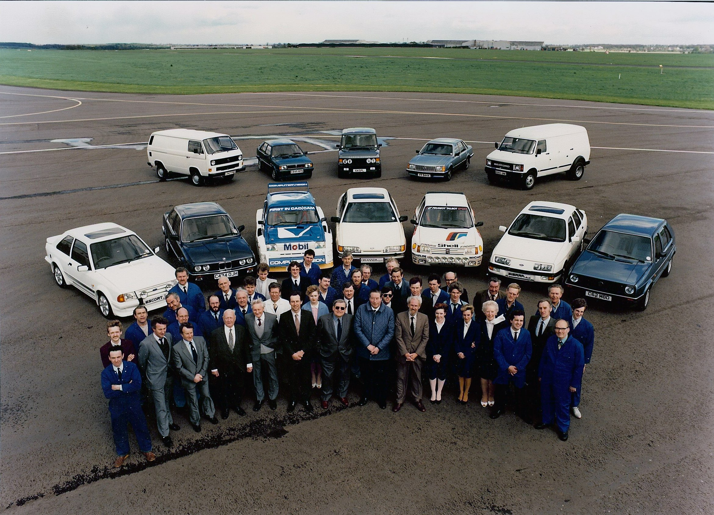 FF Developments' staff and converted vehicles, 1985