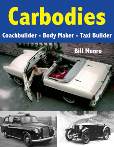Cover for Carbodies: Coachbuilder, Body Maker, Taxi Builder